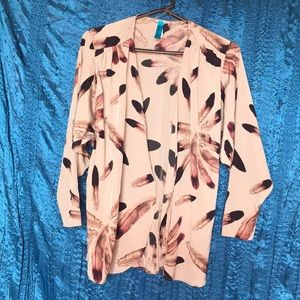 Feather Pattern Blouse